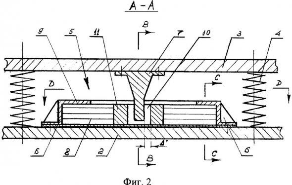 энергопоглощающее устройство пассажирского вагона - патент РФ