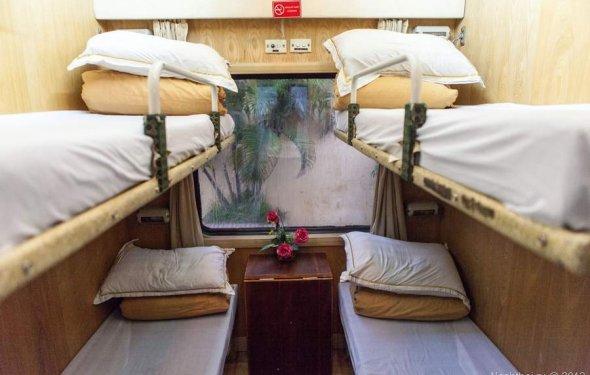 Из Ханоя во Вьетнаме в Гуилинь на поезде