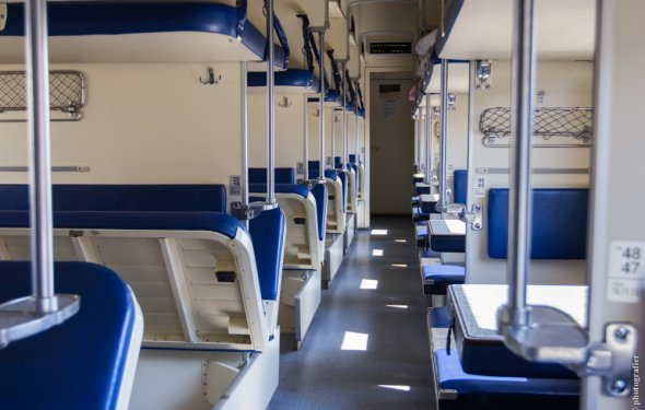 фото поезда плацкарт