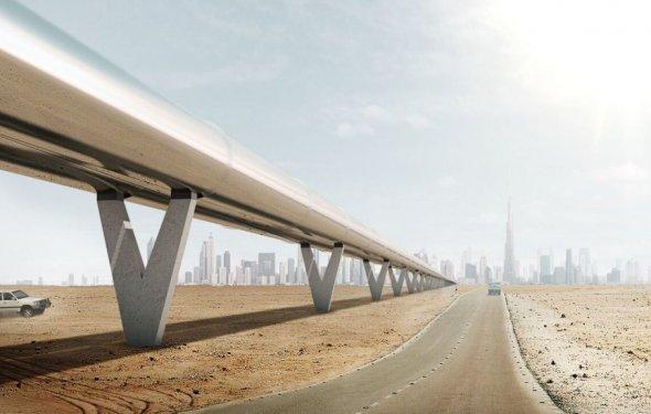 Компания Hyperloop One может запустить скоростной поезд Москва