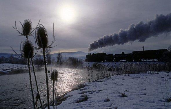 Красивые фото поездов. (23 фото) | ФотоИнтерес