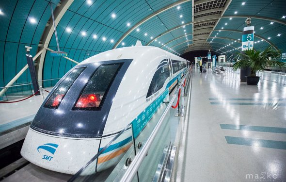 Maglev - самый быстрый поезд в мире. | Блог о путешествиях семьи Мазко