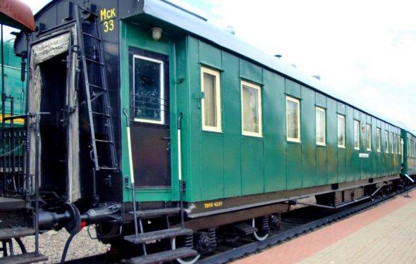 Музей железнодорожной техники на Рижском вокзале. Часть 3. Вагоны