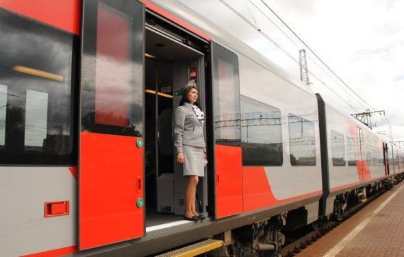 Скоростной электропоезд Ласточка | Московская ЖД