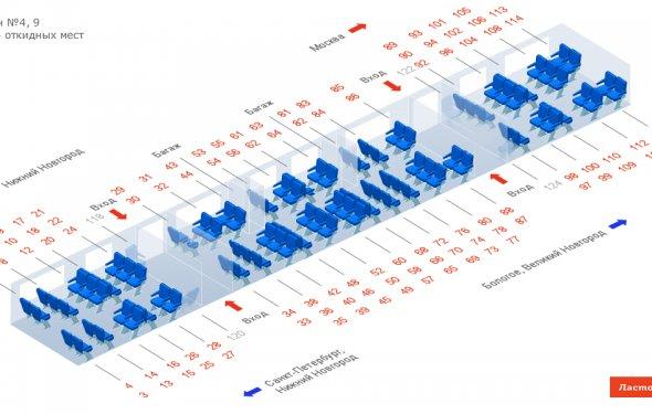 Скоростной поезд «Ласточка» |расписание,стоимость,наличие билетов