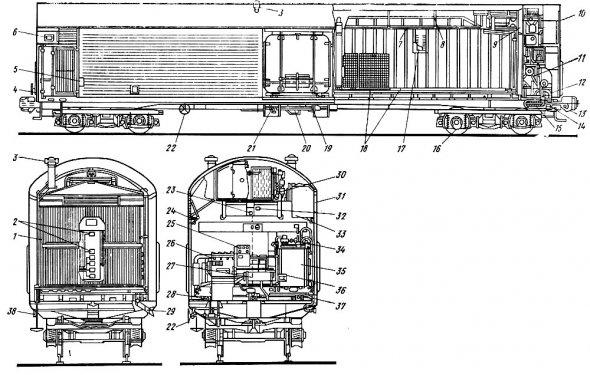 Железнодорожный холодильный транспорт [1986 Быкова В.М., Белова З